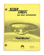 "STAR TREK: TNG ORIGINAL SCRIPT- ""Final Mission,"" Written by Arnold-Ince & Taylor"
