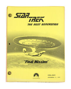 "STAR TREK: TNG ORIGINAL SCRIPT- ""Final Mission,"" Written by Arnold-Ince & Taylor"