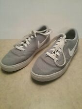 Nike Mens SB Check Gray Skateboarding,Tennis Strong Canves Shoes Size 8.5