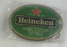 New Heineken Beer Belt Buckle