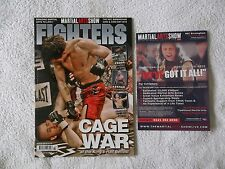 FIGHTERS MAGAZINE (UK) & FLYER - March 2010, UFC, MMA, Wrestling, K-1, Rare OOP