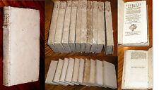 Esercizi di pietà P Giovanni Croiset S Canturani 1755 opera completa 10 volumi