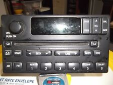Ford CD Player Radio RDS Single Disc Player AM FM Stereo Tuner Receiver Auto