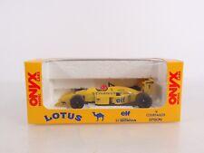 Onyx Formula 1 Models 1:43 Lotus 100T Satoru Nakajima Camel #1 E2