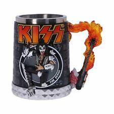 Kiss Tankard The Demon Gene Simmons Band Logo Official Flame Range Boxed