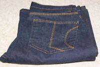 "M&S Bootcut Stretch Jeans~Women's~Ladies~Size10~30""W~30""L~Mid Rise (9.5"")"