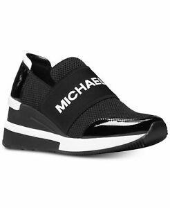 Michael KORS FELIX SCUBA MK Logo Slip on Trainer Sneakers