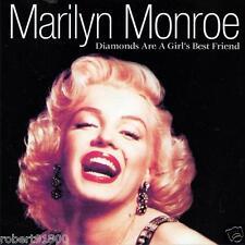 CD audio.../...MARILYN MONROE.../...DIAMONDS ARE A GIRL'S BEST FRIEND.....