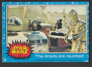 Topps Star Wars - Series 1 1977 - # 12 The Droids Are Reunited