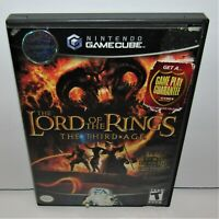 The Lord of the Rings: The Third Age (Nintendo GameCube, 2004) Complete Tested