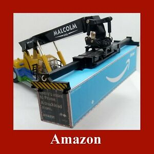 Amazon Prime Collection Model Rail Freight Shipping Containers x 5 OO Gauge 1:76