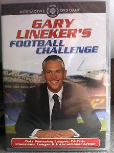 Gary Lineker's Football Challenge DVD Interactive Game