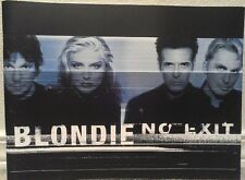 "Blondie ""No Exit"" Tour Program from 1999 - Mint"