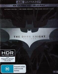 The Dark Knight Trilogy 4K UHD + Blu Ray (9-Disc Set) Boxset Region B