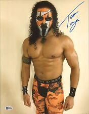 Tama Tonga Signed 11x14 Photo BAS COA New Japan Pro Wrestling Bullet Club NJPW C