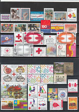 SLOVENIA red cross and postage due stamps lot, MNH nice condition