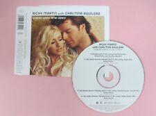 CD Singolo RICKY MARTIN CHRISTINA AGUILERA NOBODY WANTS LONELY 2001 no mc (S32)