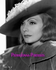 "GRETA GARBO 8x10 B&W Lab Photo ""Queen Christina"" 1933 Majestic Glamour Portrait"