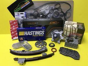 Fits to Yaris Echo Scion XA XB Rebuild Engine Kit Gasket Set Engine Bearing Ring