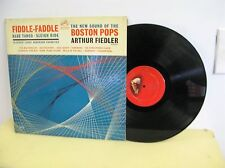 ARTHUR FIEDLER & BOSTON POPS FIDDLE FADDLE RCA RECORDS LM 2638 RED SEAL VG