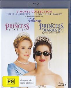 The Princess Diaries - 2 Movie Collection  [Disney]  [BLU-RAY]