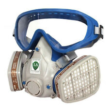 New Rubber+PC Lens Mask and Goggles Fit Spray Paint Oil Machinery Polishing Dust