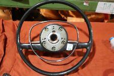 ORIGINAL Mercedes W110 W111 W112 W113 W114 W115 Oldtimer Leder Lenkrad DE ✓