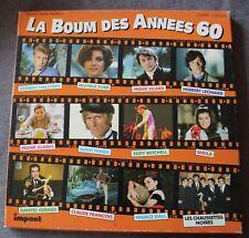 La boum des années 60 - johnny hallyday sheila mitchell..., Box 3LP - 33 tours