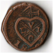 1826 India (British) - Bombay 1 Pice Coin KM#198