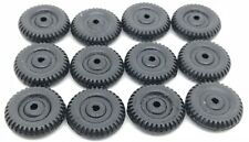 "12pc Vtg Toy Car Truck 7/8"" Dai NOS Replacement Rubber Tires Wheels Parts-Marx"