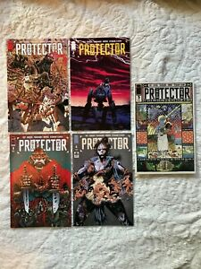 Protector (a.k.a. First Knife) #1-5 (Full run, NM 9.8, Image Comics)