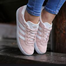 Adidas Gazelle J BY9544 Weiß,Rosa Halbschuhe | eBay