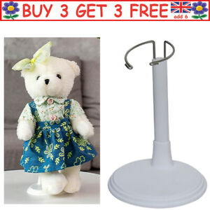 Doll Display Stand Toys Holder Clear Adjustable Model Support Tools Supplies UK