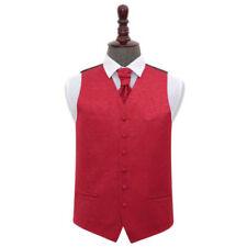 Button Microfibre Regular Size Waistcoats for Men