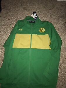 Notre Dame Fighting Irish 2020 Under Armour Full Zip Ireland Jacket XXL