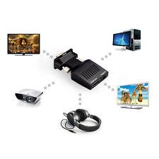 1080P VGA zu HDMI HD Audio TV Video AV HDTV PC DVD Kabel USB-Konverter-Adapter