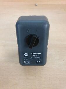 Condor Druckschalter MDR 2/11 für Kompressor, max. Druck 11 bar NEU