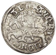 LITHUANIA, Polish Rule. Alexander I, 1501-1506. Silver 1/2 Groschen