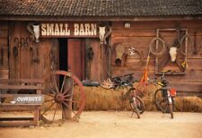 7x5ft Photography Prop Cowboys Backdrop Barn Rural Scene Background Vinyl Studio