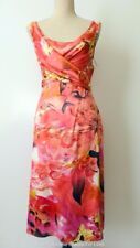 EVENTS COLLECTION  rrp $229.00 Sleeveless Mock Wrap Dress Size 10 US 6 UK 10
