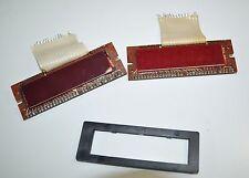 Vintage Gecon 4 Digit LED Display Lot of 2 With Bezel - PIX-1094HB