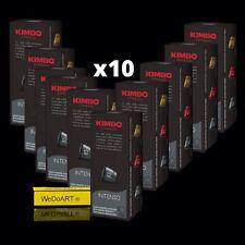 KIMBO Espresso INTENSO 100 capsules Italian Coffee Free Shipping