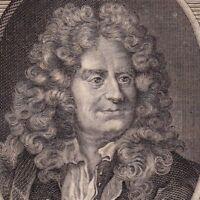 Portrait XVIIIe  Nicolas Boileau Boileau Despréaux Poète Critique Littéraire
