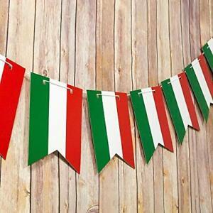 Quasimoon Mexican Flag Mexcio Country Pattern Guidon Pennant Banner Garland (...