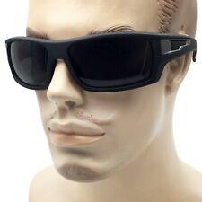 XL Large Men Sunglasses Sport Wrap Around Mirror Driving Eyewear Glasses Rubber