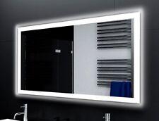 Badspiegel LUX mit LED Beleuchtung Badezimmerspiegel Bad Spiegel Wandspiegel Maß