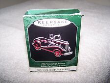 Hallmark Ornament Nib New Dated 2005 Msrp $6.95 1937 Steelcraft Auburn Kiddie Ca