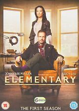Elementary Complete TV Series 1 Sherlock Holmes DVD 6 Discs Collection New