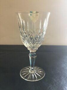 """ROYAL DOULTON Crystal Balmoral Water Goblet 7"""""""