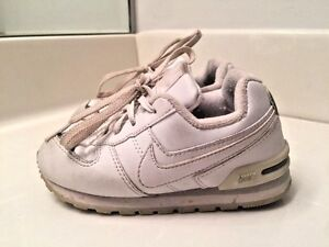NIKE Air Jordans WHITE LEATHER SILVER TAB Boys Girls Athletic Shoes Size 9 c ~